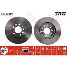 Bremsscheibe, 1 Stück TRW DF2681