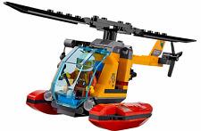 LEGO 60161 Città Giungla ANFIBIO Elicottero & PILOT SOLO (DA 60161)