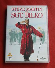 Sgt. Bilko - Region 2 DVD - Steve Martin, Dan Aykroyd, Phil Hartman - Sergeant