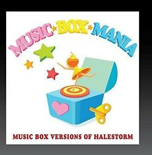 Music Box Versions of Halestorm [New CD] Manufactured On Demand
