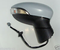 Ford Fiesta Mk7 2008-2013 Door Wing Mirror Electric Primed N/S Passenger Left