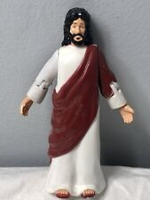 Accountrements 2001 Jesus Action Figure Posable Arms on Wheels Rolling