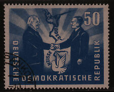 DDR #81 USED 1951 President of Poland Visiting Russian Zone of Germany SCV $16