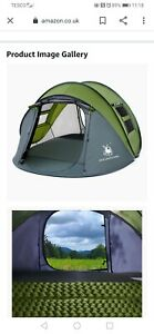 HUI LINGYANG 4 PERSON POP UP TENT WATERPROOF BNWT BARGAIN QUICK /EASY PITCH