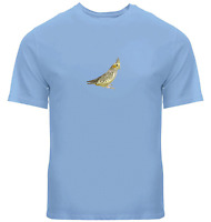 Unisex Tee T-Shirt Mens Women Gift Shirts Print Bird Cute Cockatiel Bird