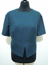 CULT VINTAGE '60 Maglia Giacca Donna Lana Woman Wool Sweater Jacket Sz.L - 46