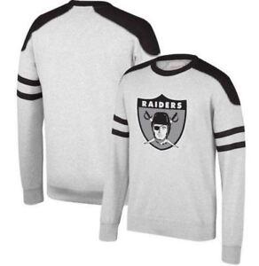 Mitchell & Ness Oakland Raiders NFL Post Season Run Men's Crew Sweatshirt