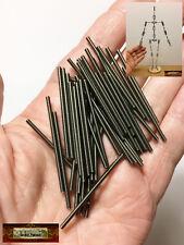 M01082x5 MOREZMORE HPA 50pcs M2 40 mm All Thread Rod Threaded M2*40 M2x40