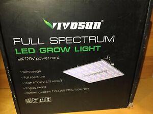 VivoSun 1000LED's Full Spectrum Grow Light With 120V Power Cord.