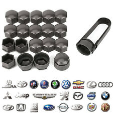 Wheel Nut Caps Bolt Covers Audi Vauxhall Bmw Mercedes Renault 17mm Locking New