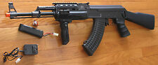 JG Metal Gearbox AK47 Tactical Electric Airsoft Gun  Shoot 350 FPS with 0.2G BB