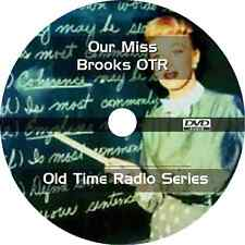 * OUR MISS BROOKS  (OTR) OLD TIME RADIO SHOWS * 178 EPISODES on DVD *