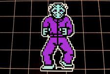 NES Friday the 13th Jason Vorhees sprite pixel decal / sticker Nintendo 80s 90s