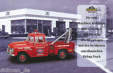 1001MAT Matchbox Abschleppwagen Pick Up Prospekt 1996 model cars Modellautos