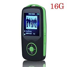 HONGYU® Latest Portable Hi-Fi 16GB Bluetooth MP3 Player with FM Radio 50 Hours &