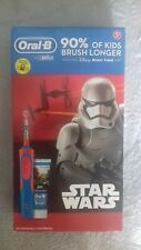 ORAL-B kids rechargeable toothbrush -STAR WARS with Disney magic timer new/boxed