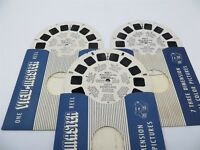 View-Master Reels 856-A-B-C, Mickey Mouse Club Circus Visits Disneyland, 3 Reels
