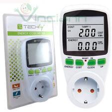 Misuratore elettronico consumo elettrico energetico rilevatore energia corrente