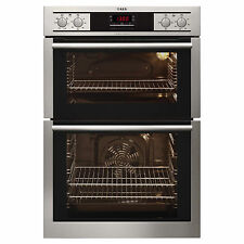 AEG DC4013001M Built-in Multifunction S/Steel Touch Control Electric Double Oven