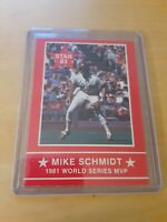 "1983 Star Mike Schmidt ""1981 World Series MVP"" 3rd Baseman Philadelphia Phillies"