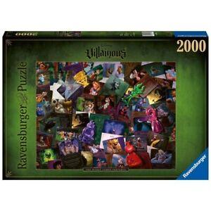 Ravensburger Disney Villainous Villians 2000 Pc Puzzle Jigsaw 16506