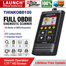 LAUNCH OBD II OBD2 EOBD Vehicles Diagnostics Scanner Tool Car Engine Code Reader
