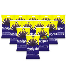 12x Marigold Extra Tough Outdoor Gardening Cleaning Gloves XL Heavy Duty Rubber