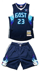 Mitchell & Ness Lebron James All STAR GAME 2009 Authentic Jersey & SHORTS Sz. 36