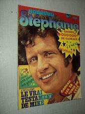 LE NOUVEAU STEPHANIE 11/75 (9/75) JOE DASSIN MIKE BRANT ADJANI CLAUDE FRANCOIS