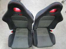 SEATS RIGHT/LEFT HONDA CIVIC ep1 ep2 ep3 Type R 2,0l 200ps BJ: 2001 - 2007