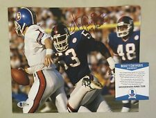 Harry Carson Signed 8x10 Photo Autographed AUTO Beckett BAS COA NY Giants