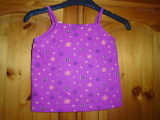 Unbranded Girls' Sleeveless Cotton Blend T-Shirts & Tops (2-16 Years)