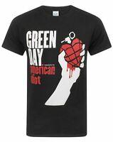 Green Day American Idiot Men's Short Sleeve Black T-Shirt