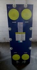"""New listing Gea Heat Exchanger Nt100M Cyf 150, 800 Gpm Plate Frame 4"""" In / Out 150 Psi"""