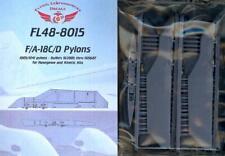 Flying Leathernecks Models 1/48 PYLONS for F/A-18C/D HORNET (4) Resin Set