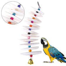 More details for cuttlefish bone bird toys parrots budgie pets perch parakeet cage supplies new