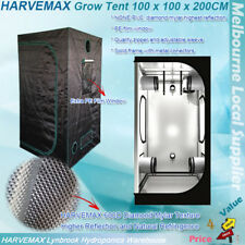 Hydroponic Mylar HARVEMAX Grow Tent 1x1x2M Fo Indoor Grow Light HPS MH LED CMH