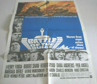 USA, Filmplakat,BATTLE OF THE BULGE ,HENRY FONDA,ROBER SHAW#37