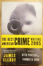 THE BEST AMERICAN CRIME WRITING 2005 By James Ellroy PAPERBACK book