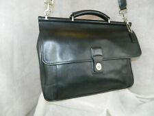 Coach Executive Barclay Briefcase #6456  Nickel  Black