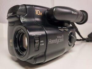 Sony Video 8 Camcorder CCD-TR350E (zum Digitalisieren) Kamera Recorder Handycam
