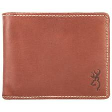 Browning Buckmark Bi-fold Wallet Brown Leather w/ 2 ID Windows