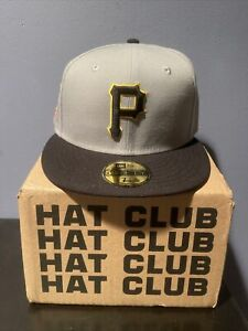 Hat Club Exclusive Pittsburgh Pirates Three Rivers Golden Decades Size 7 1/2
