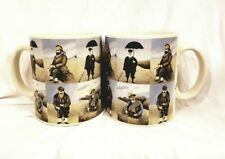 "Pair (2) California Pantry ""The Pursuit Of Leisure"" Artist Guy Buffet Mugs"