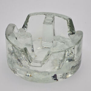 Glas Bleikristall Stövchen Teewärmer Topf-/Kannenuntersetzer, rund