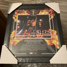 WWE DAMIAN PRIEST TAKEOVER THIRTY PLAQUE 15x17 #006/250 Framed