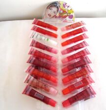 36 New/Lot: Glitter Lip Gloss With Vitamin E & Aloe Vera,Fancy Women,$120 Value+