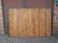 HEAVY DUTY CLOSED END WOOD FENCING PANELS - CHEAP