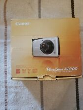 Canon PowerShot A2200 14.1 MP Digital Camera - New in Open Box Tested