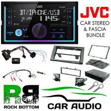 Ford Fiesta 2005-2008 JVC Bluetooth Mechless Car Stereo Grey Kit CTKFD23